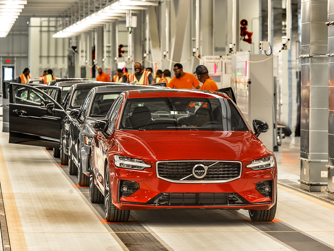 2019 S60 Sedan: First Volvo Built in U.S.